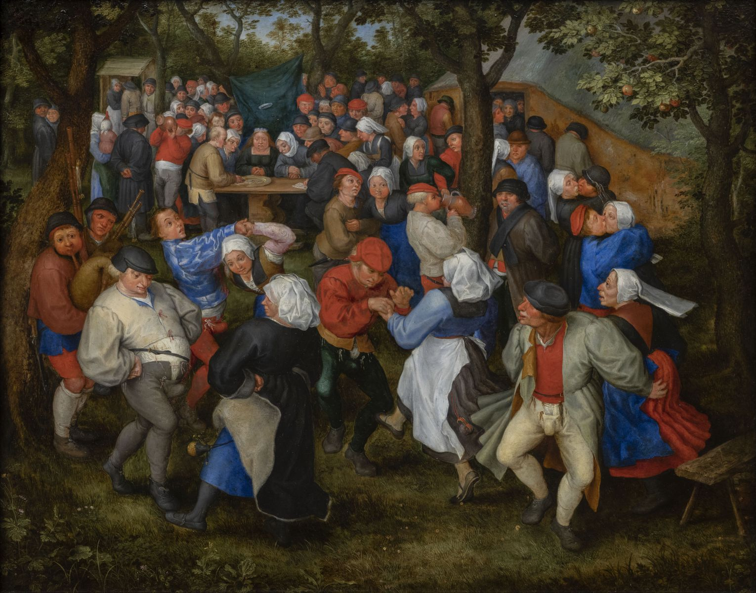 Danse de noces_ Jan I Brueghel