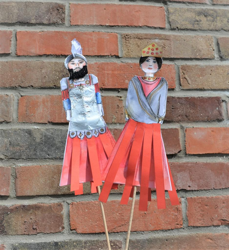 Marionnettes Reuze-Papa et Reuze-Maman